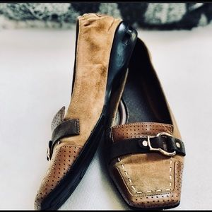 Cole Haan Shoes Sz 6.5M Flats Brown GUC
